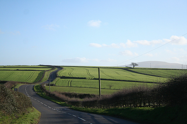 Sampford Courtenay: near Langmead