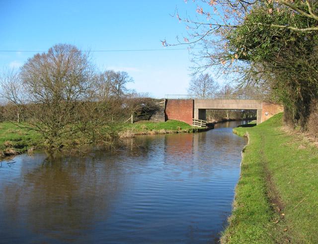 Baddiley Bridge on the Shropshire Union Canal