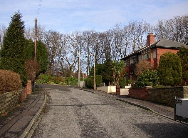 Charles Avenue, off New Hey Road, Lindley cum Quarmby (near Huddersfield)