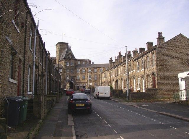 Wellington Street (western end), Oakes, Lindley cum Quarmby (near Huddersfield)