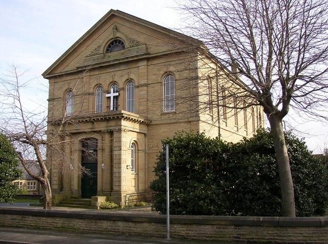 Oakes Baptist Chapel, Lindley cum Quarmby (near Huddersfield)