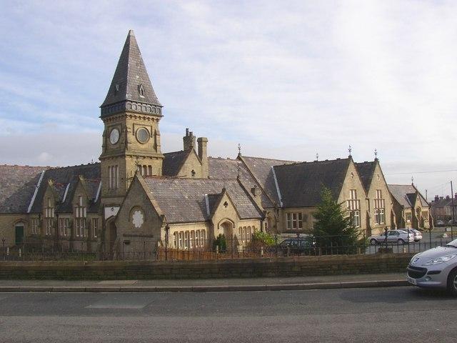 Wellington Street School, Oakes, Lindley cum Quarmby (near Huddersfield)