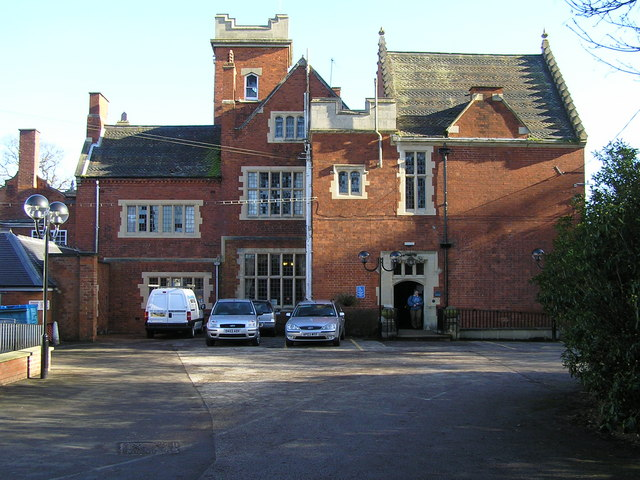 Pendrell hall, main entrance