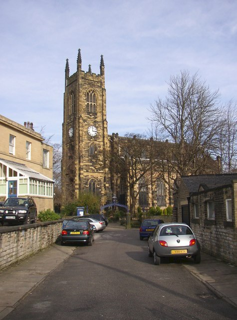 Holy Trinity Church, off Trinity Street, Marsh, Huddersfield