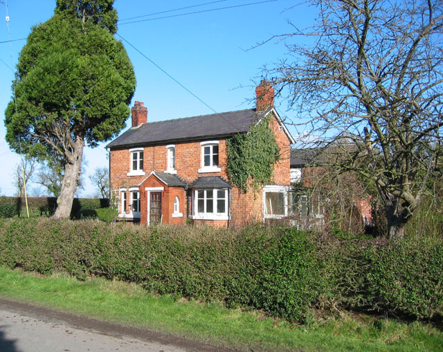 Farmhouse on Woodcotthill Road, Wrenbury Heath