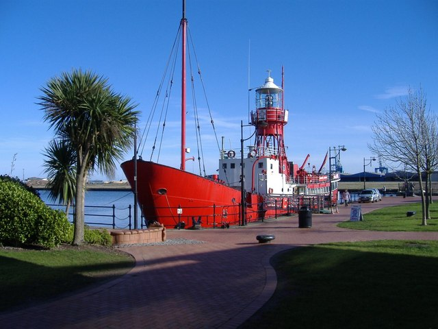 Lightship at Cardiff Bay