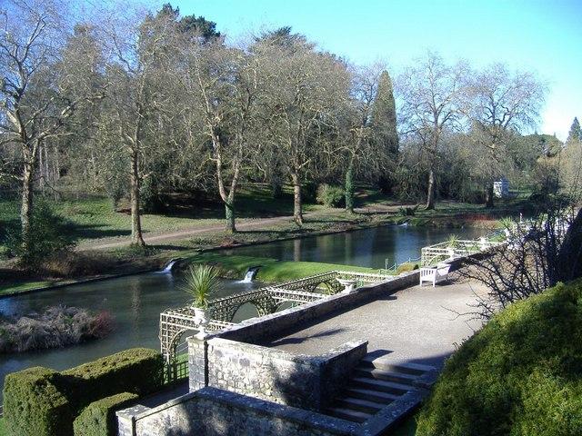 Water garden, St Fagans castle