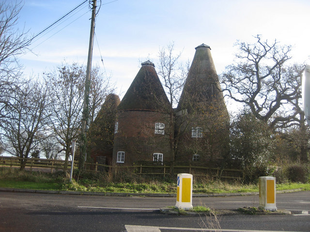 Oast House at Stocks Farm, Wittersham Road, Wittersham, Kent