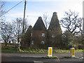 TQ9127 : Oast House at Stocks Farm, Wittersham Road, Wittersham, Kent by Oast House Archive