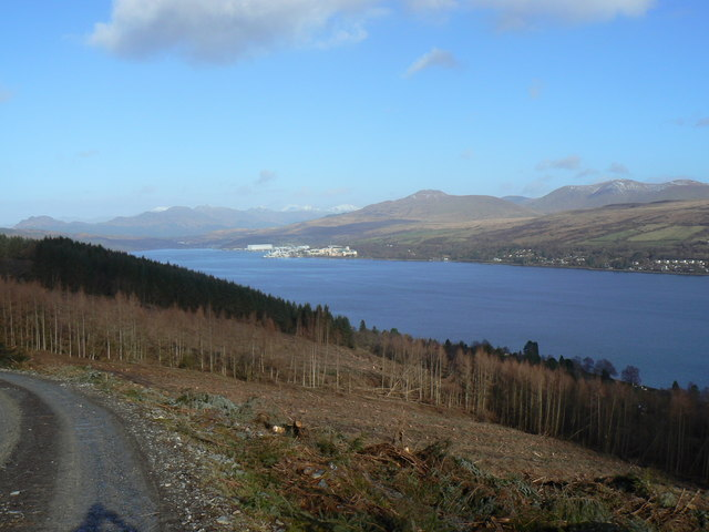 Kilcreggan- Barremman, Gare Loch Forestry Track