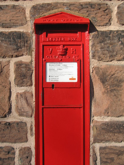 Victorian Postbox, Childwall