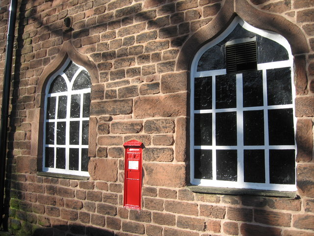 Victorian Postbox, Childwall Abbey Pub