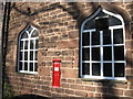 SJ4189 : Victorian Postbox, Childwall Abbey Pub by Sue Adair
