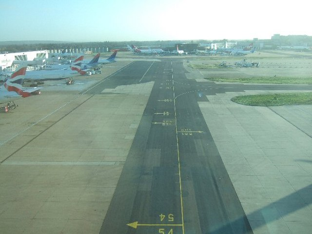 Gatwick Taxiway