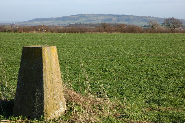Trig point on Severn Bank