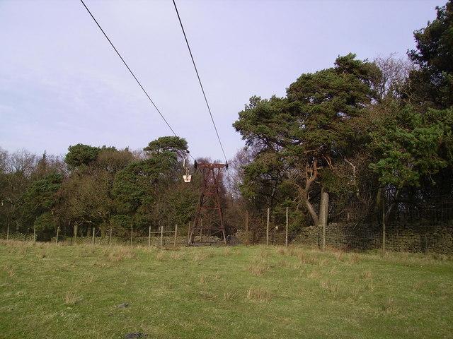 Aerial Ropeway, Claughton