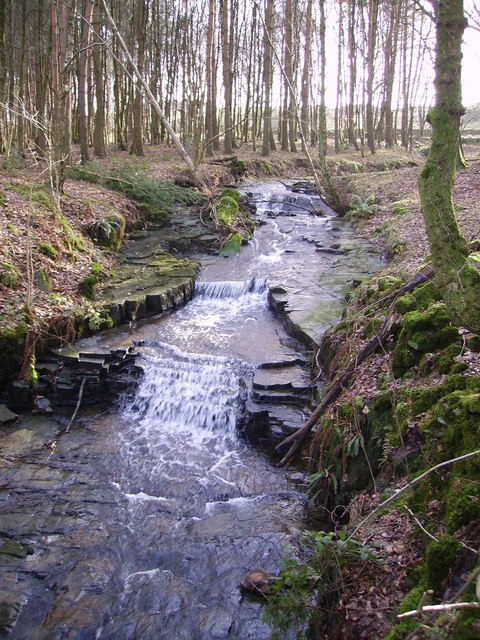 Waterfall, Claughton Beck