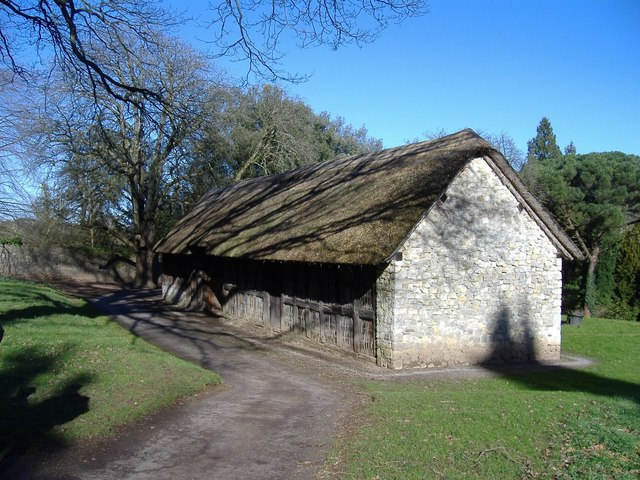 Thatched barn, St Fagans