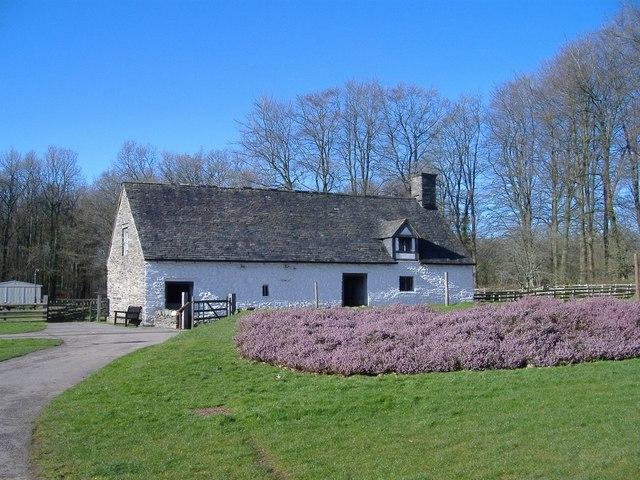 Early Welsh farmhouse