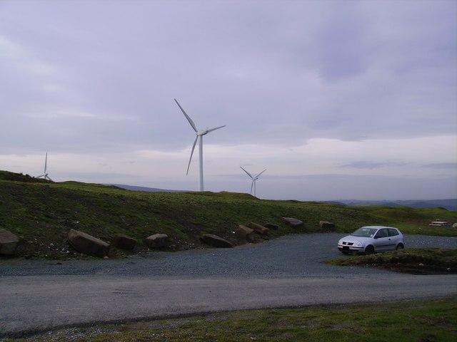 Windfarm, Caton Moor