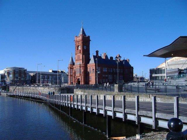 The Pierhead, Cardiff Bay