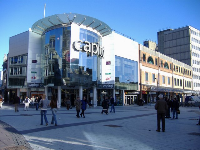 Capitol shopping centre, Cardiff