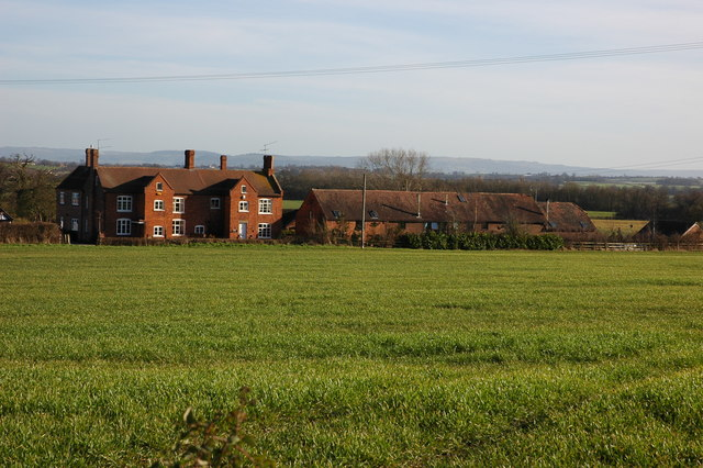 Lower Court Farm at Kinnersley