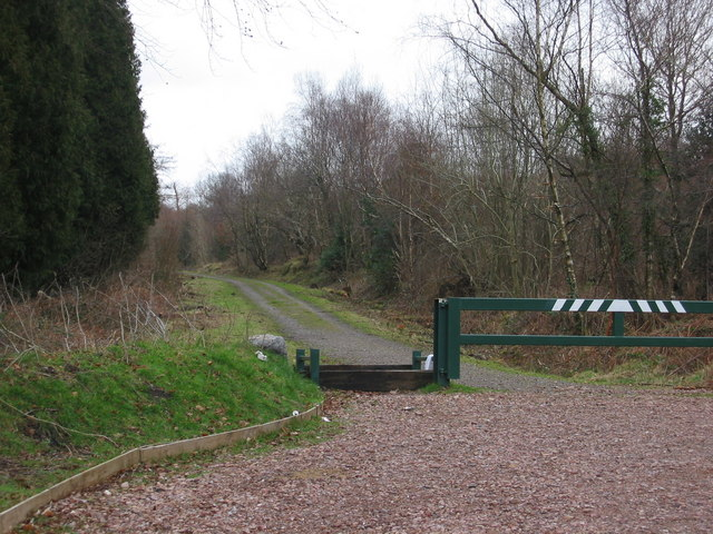 Entrance to the forestry