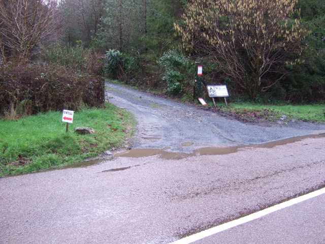 Entrance to Morwelldown Plantation