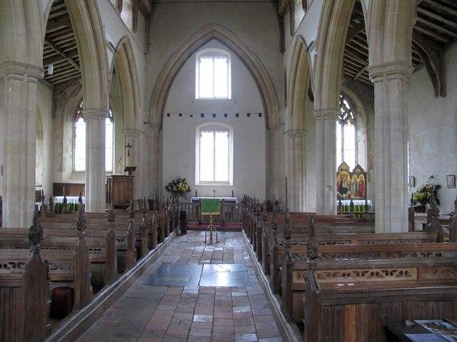St Peter, Great Walsingham, Norfolk - East end