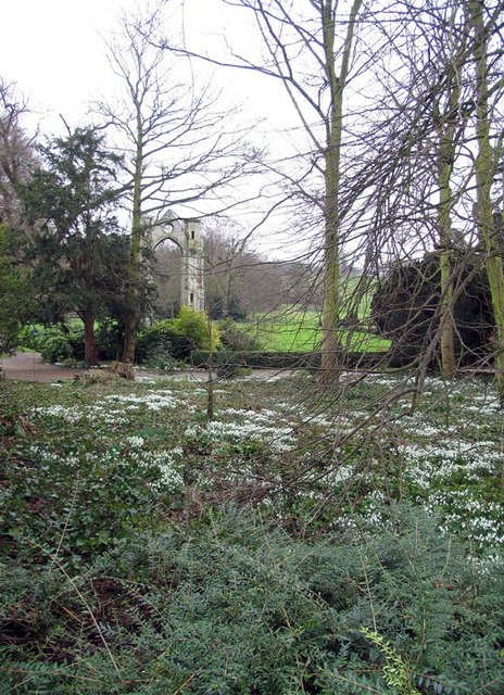 The Abbey grounds, Little Walsingham, Norfolk
