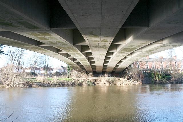 Under the Bridge Over the Wye