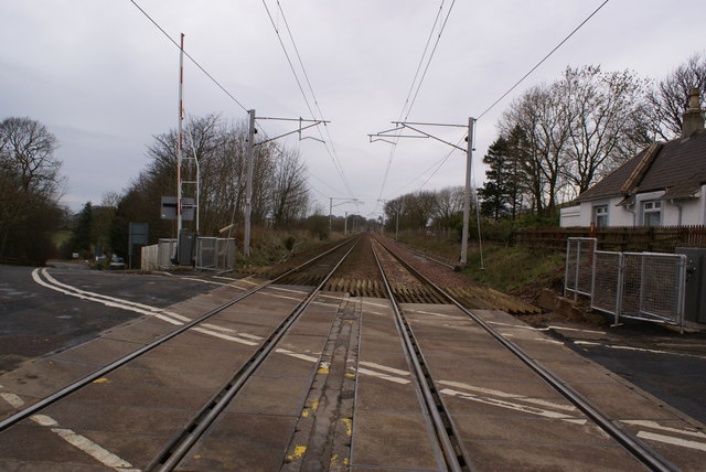 Cleghorn Level Crossing