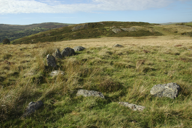 Remains of Cefn Caer Euni