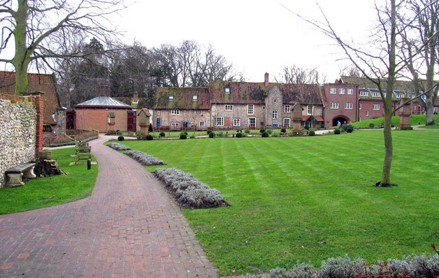 Grounds of Our Lady of Walsingham, Little Walsingham, Norfolk