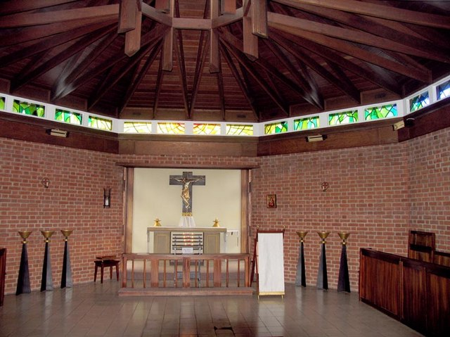 Interior of Chapel in the grounds of Our Lady of Walsingham, Little Walsingham, Norfolk