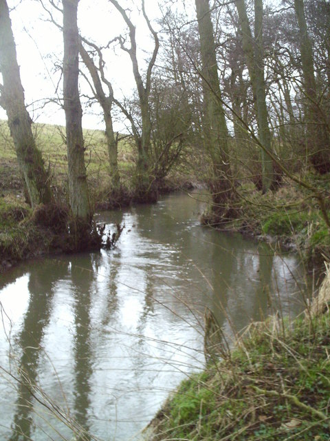 The Huntly Burn Upstream of Clatteringbrig