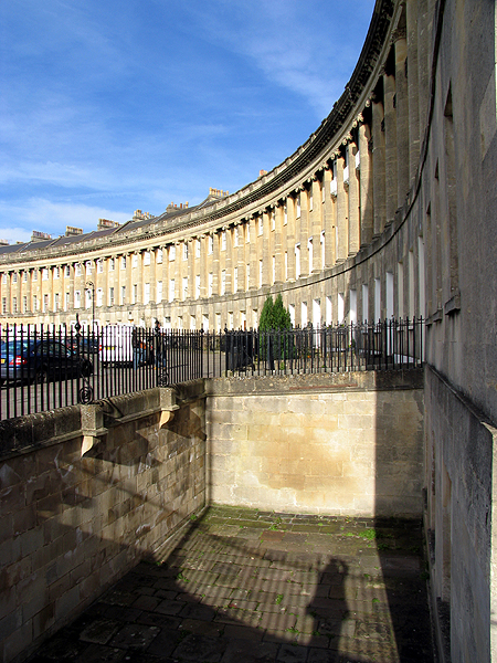 The Royal Crescent: Bath