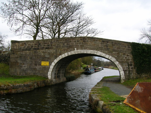Wanless Bridge on the Leeds-Liverpool Canal