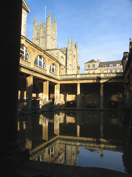 Bath Abbey and Roman Baths: Bath