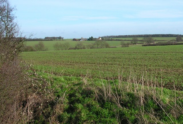 Looking across the Harcamlow Way to Butlers Farm.
