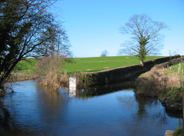 Impassable ford of the River Weaver