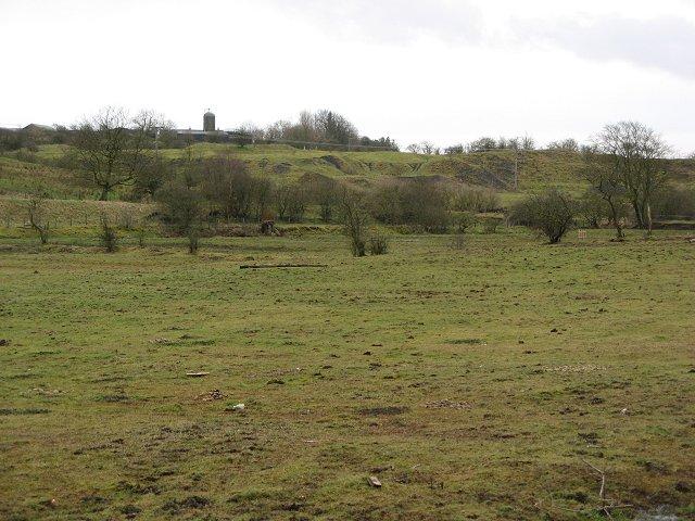 Old quarry, Headsmuir