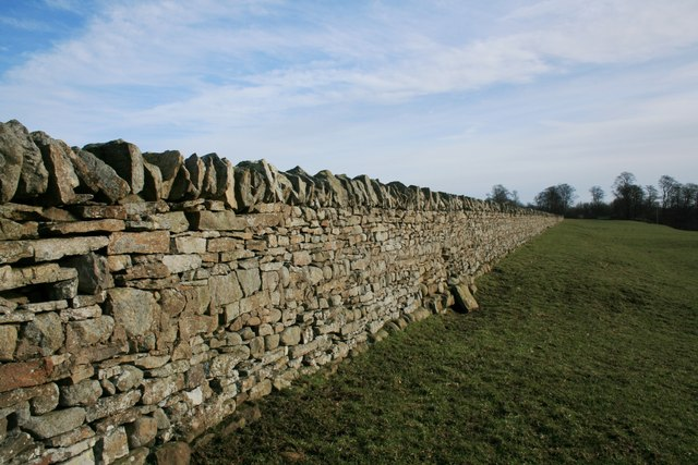 Stone Wall, North Bank of the Tees