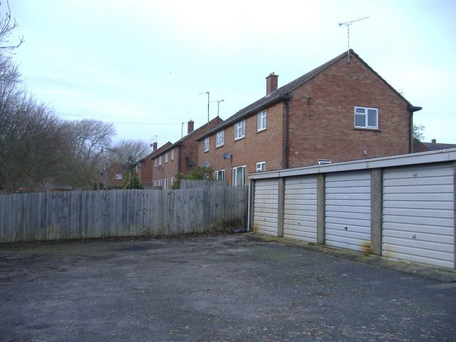 Service houses near RAF Lyneham