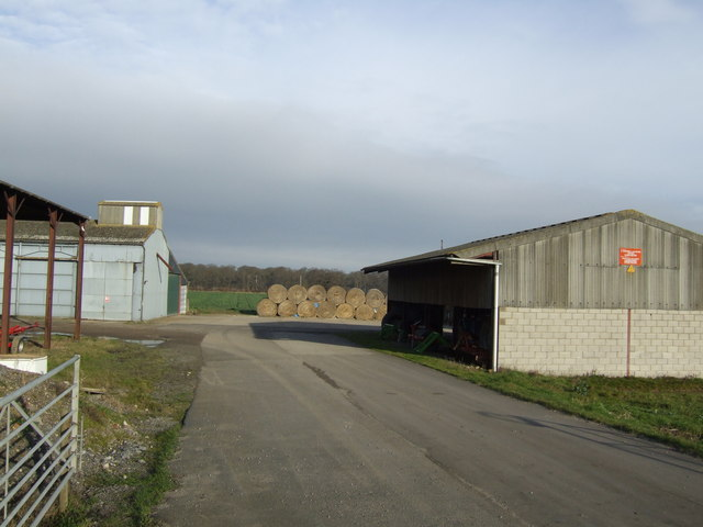Woodhouse farm buildings