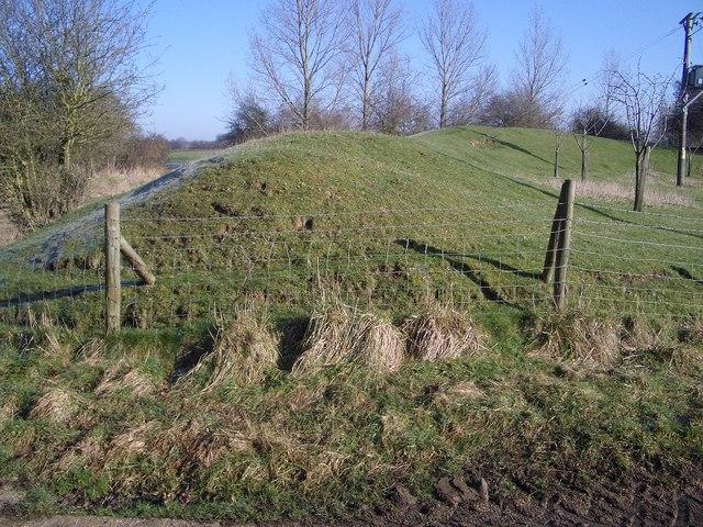 Lavendon Castle Earthworks - II
