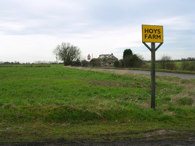 Cottage Northwest of Hoys Farm driveway