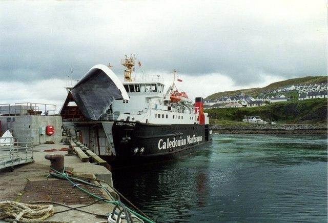 Skye ferry at Mallaig