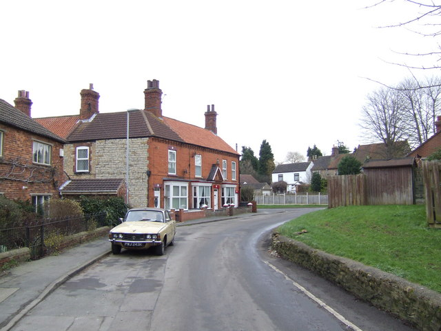 Back street in lower Kirton